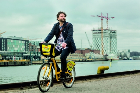 More than three million journeys made by city bikes in Helsinki and Espoo in 2018 (Photo: Business W ...