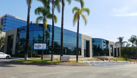 Abzena's biomanufacturing facility in Lusk, San Diego where investment into two new manufacturing suites at 500 L and 2000 L will take place. (Photo: Business Wire)