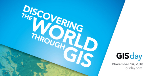 GIS Day will be on November 14, 2018 (Graphic: Business Wire)