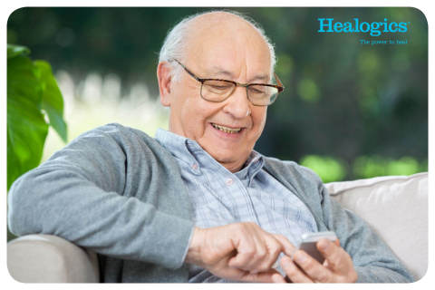Through Healogics Patient Engagement program, patients will receive text message reminders for their ...