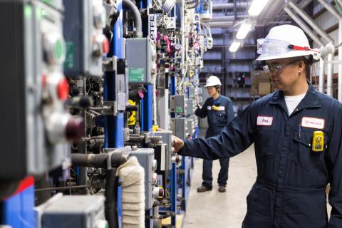 INVISTA ADN pilot plant in Orange, Texas (Photo: Business Wire)