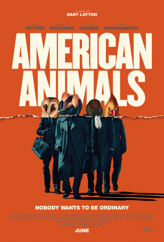 "MoviePass Ventures' first entry into film distribution, ""American Animals"", scores big with 11 British Independent Film Awards nominations. (Photo: Business Wire)"
