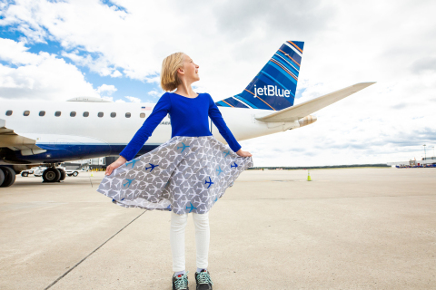 JetBlue and Princess Awesome encourage girls' interest in STEM with new aviation-themed fashion coll ...
