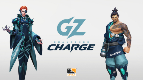 GZ Charge in-game skins. (Photo: Overwatch League)