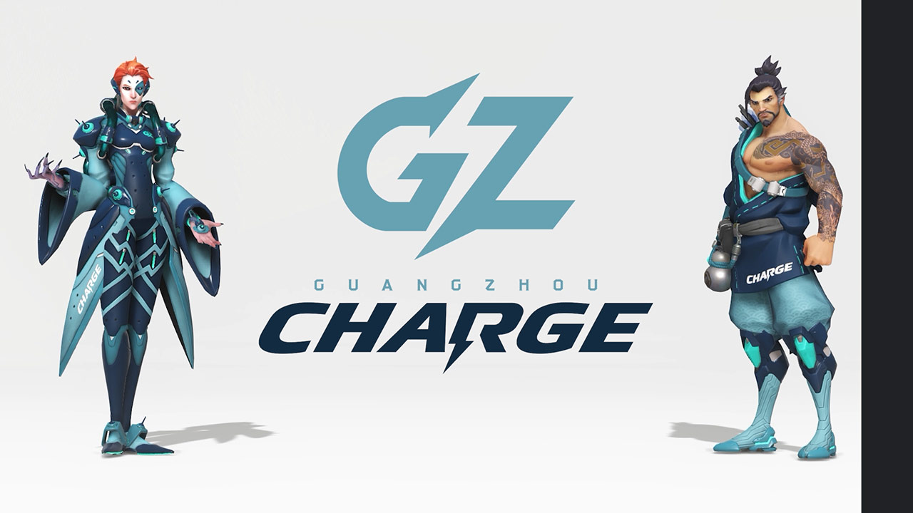 GZ Charge in-game skins in 3D. (Video: Overwatch League)