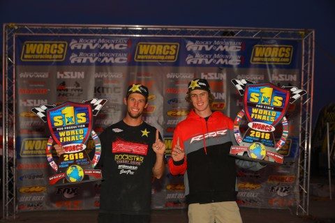 RJ Anderson (pictured left) and Ronnie Anderson (pictured right) Among Eight Factory RZR Drivers to Take Home First Place Wins Resulting in Multiple Podium Championship Titles (Photo: Business Wire)