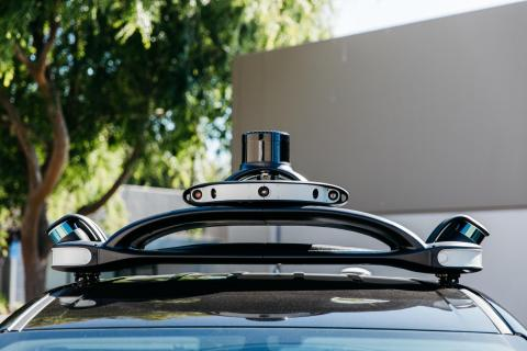 The Velodyne VLS-128™ is a lidar sensor specifically made for autonomous driving and advanced vehicle safety at highway speeds. (Photo: Business Wire)