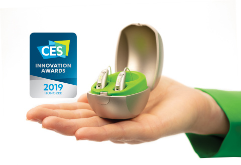 Phonak Audéo Marvel has been recognized as a CES 2019 Innovation Awards Honoree for Accessibility (P ...