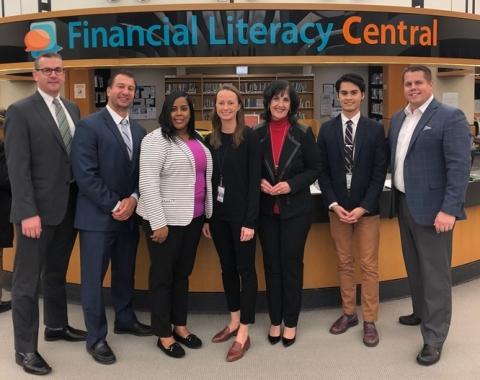 From left: Kevin Beauparlant, Michael Watts, Lasha Marshall, Tanya Shpiniova, Minnie Mills, Carlos B ...