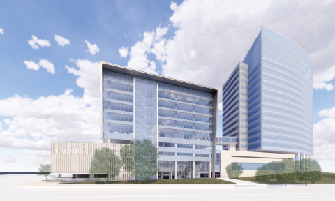 Rendering of CalSTRS Building Expansion (Graphic: Business Wire)