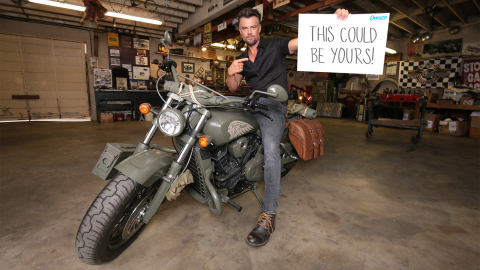 Josh Duhamel, in partnership with the Call of Duty™ Endowment, is offering one lucky winner the chan ...