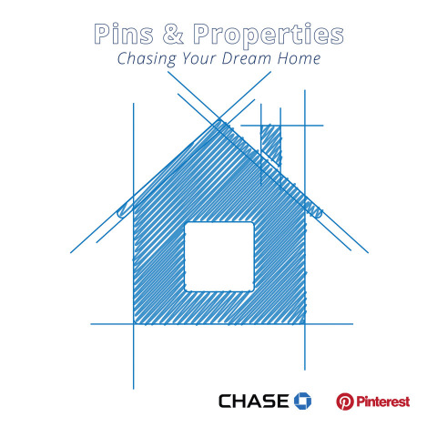 "Chase and Pinterest have partnered on the report ""Pins & Properties: Chasing Your Dream Home,"" looking at home renovation data and trends. (Graphic: Business Wire)"