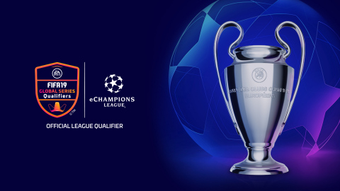 Electronic Arts and UEFA today announced the eChampions League, a pivotal tournament expansion to the EA SPORTS FIFA 19 Global Series. (Graphic: Business Wire)