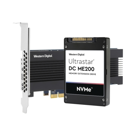 Western Digital Ultrastar® DC ME200 Memory Extension Drive - NVMe™ U.2 and AIC HH-HL form factors (Photo: Business Wire)
