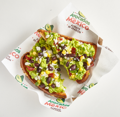 The first AvoEats concession stands in the US feature trendy avocado menu items including Avo Toast, Avo-Buffalo Fries, a Guacamole Sampler and an Avo-Chocolate Mousse. (Photo: Business Wire)