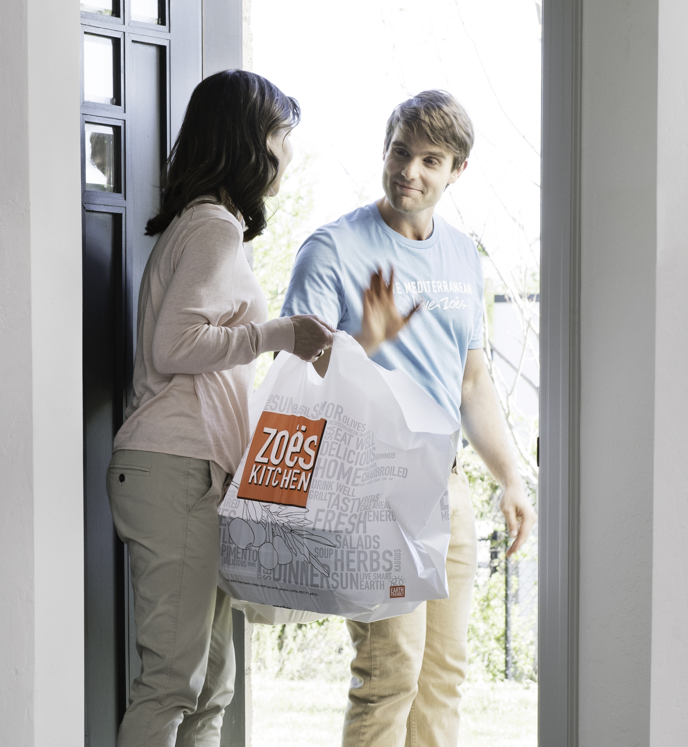 Zoës Kitchen Launches Direct Delivery Service with Free