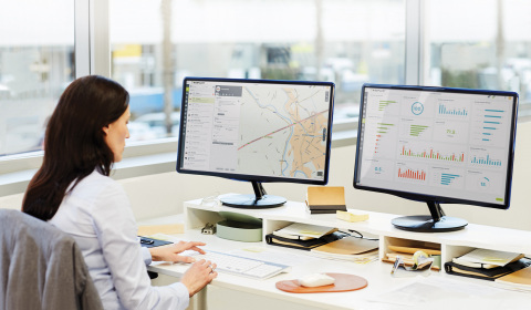 TomTom Telematics named Europe's largest provider of fleet management solutions for fourth year running. (Photo: Business Wire)