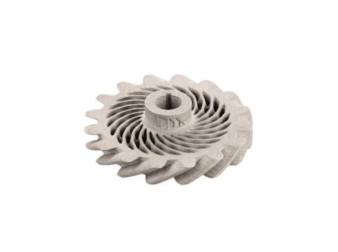 The Production System is capable of customizing batches of generative designed gears at varying amounts with mass production efficiency. (Photo: Business Wire)