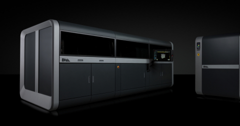 The Production System, the world's fastest metal printer, delivering the lowest cost per part with the highest capacity of any metal 3D printing system available. (Photo: Business Wire)