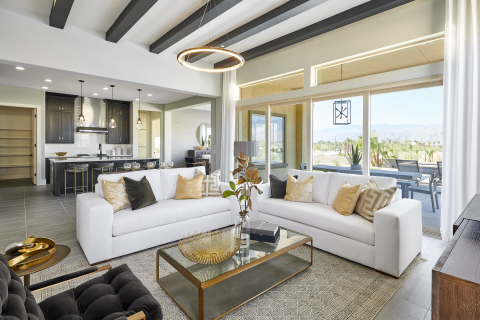 The beautiful views of Del Webb at Rancho Mirage aren't just outside. (Photo: Business Wire)