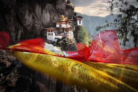 Tiger's Nest Monastery, Bhutan (Photo: Business Wire)