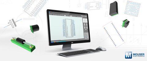 Mouser Electronics and SamacSys announce a new partnership at electronica 2018. Using SamacSys' electronic component libraries, Mouser will provide customers a range of free design resources for more than 1.1 million components.(Photo: Business Wire)
