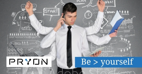Pryon's Augmented Intelligence platform for the enterprise combines the strengths of people and machines to make workers even better. (Photo: Business Wire)