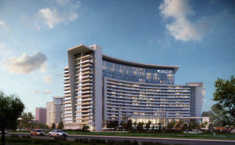 Rendering of the future Choctaw Casino & Resort (Graphic: Business Wire)