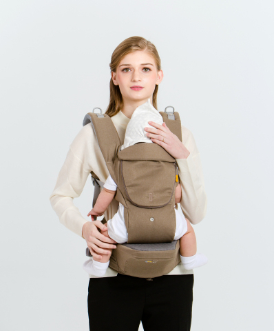 "Gi-Won Plus Ltd. Introduces ""Bebettirang G8″, an All in One Hipseat Baby       Carrier"