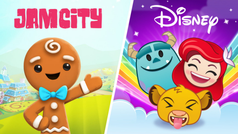 Jam City and Disney Announce Multi-Year Mobile Games Development Partnership (Graphic: Business Wire)