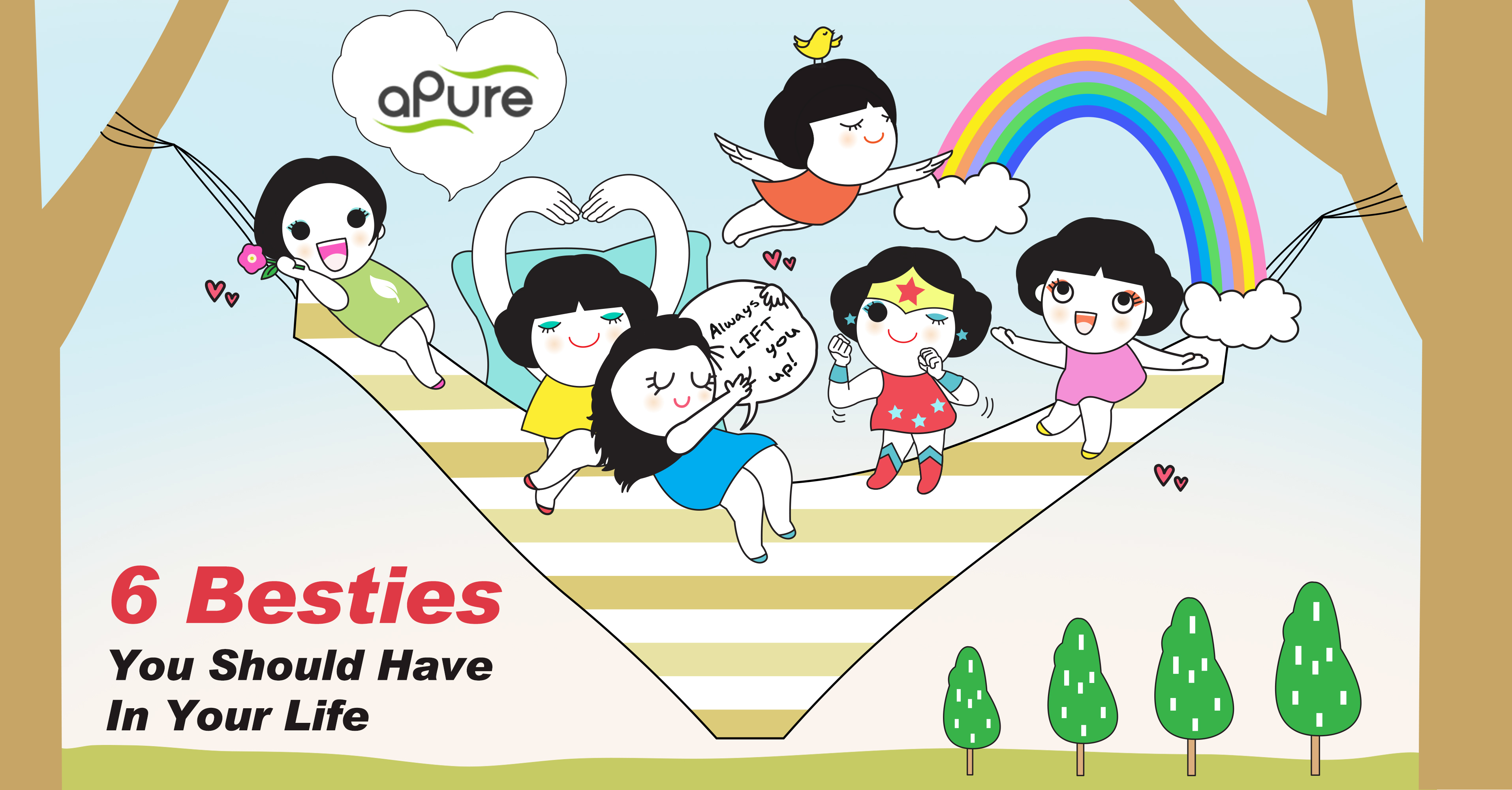 Wholehearted Besties That Never Betray You Apure Introduces Pure5 5 Underwear As Your Intimate Bff Business Wire