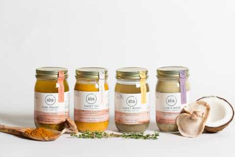 aha Pure Foods Vegan Soups (Photo: Business Wire)