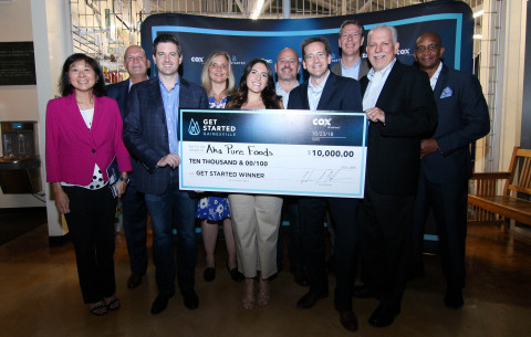 aha Pure Foods wins Cox Business' Get Started Gainesville Business Competition (Photo: Business Wire)