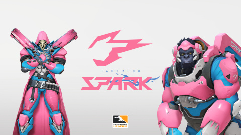 Hangzhou Spark logo and Pink Reaper & Winston (Photo: Business Wire)