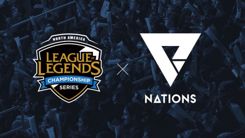 We Are Nations and NA LCS form merchandising and sponsorship partnership that will begin at the start of the 2019 season. (Graphic: Business Wire)