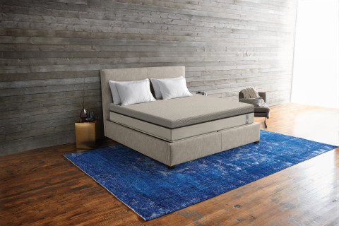 The Sleep Number 360 i8 smart bed. (Photo: Business Wire)