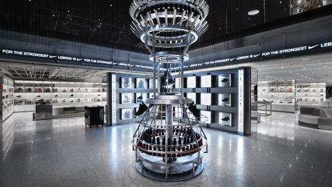 The Nike Sneaker Lab is the world best (and biggest) Nike footwear floor -- a cross-category destination for the footwear-obsessed. (Photo: Business Wire)
