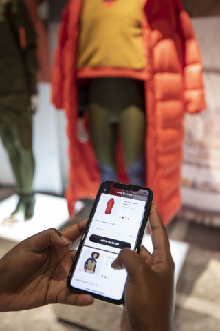 By scanning a QR Code on an in-store mannequin, consumers can browse every single item on the mannequin, check to see if their size is available in-store or online and see available colors. (Photo: Business Wire)