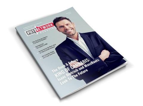 PotNetwork Magazine (Photo: Business Wire)