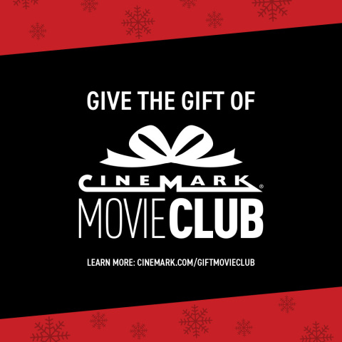 Cinemark announced the launch of Movie Club gifting, a new feature of its unique monthly movie membe ...