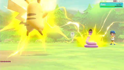The Pokémon: Let's Go, Pikachu! and Pokémon: Let's Go: Eevee! games will be available on Nov. 16. (Photo: Business Wire)