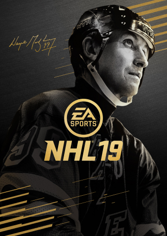 EA SPORTS™ NHL® 19 pays homage to Wayne Gretzky with the launch of the '99 Edition', available worldwide today for a limited time as a digital download on the PlayStation®4 and Xbox One (Photo: Business Wire)