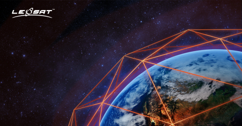 LeoSat's Global Business Backbone in Space (Graphic: Business Wire)