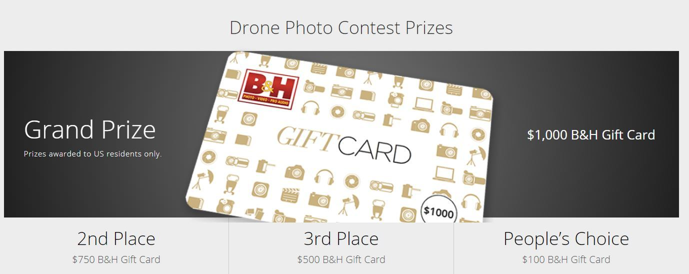 B&H Drone Photo Contest Ends December 2---Winner to Receive