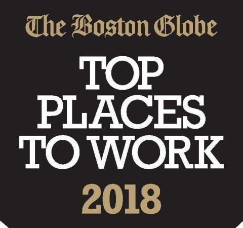 The Boston Globe Names TTA a Top Place to Work (Graphic: Business Wire)