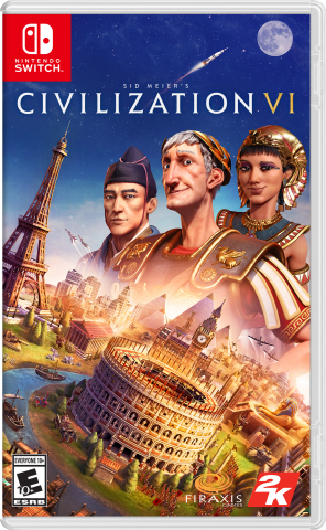 2K today announced that Sid Meier's Civilization® VI, winner of The Game Awards' Best Strategy Game and DICE Awards' Best Strategy Game in 2016, and the latest installment in the Civilization franchise, which has sold-in over 47 million units worldwide, is now available for Nintendo Switch™. (Graphic: Business Wire)
