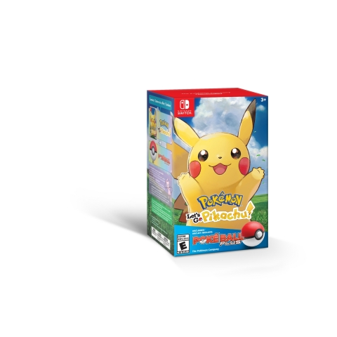 Starting today, Pokémon: Let's Go, Pikachu! and Pokémon: Let's Go, Eevee! can each be purchased in a bundle with the Poké Ball Plus accessory at a suggested retail price of $99.99, or separately at a suggested retail price of $59.99 each. (Photo: Business Wire)