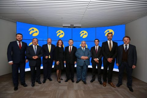Members of Turkcell Foundation Board of Trustees gathered in the inauguration ceremony. (Photo: Turkcell Iletisim Hizmetleri AS)