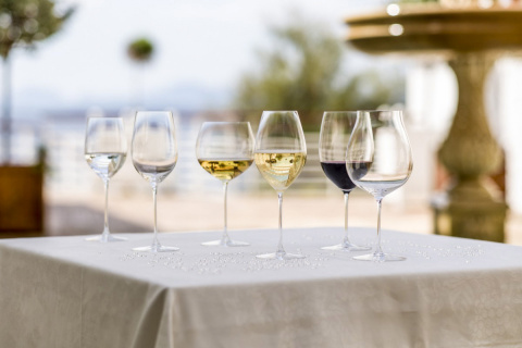 White, red or rose, sparkling or still, win over your guests this holiday with wine glasses from Riedel. (Photo: Business Wire)