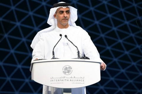 Lt. General HH Sheikh Saif bin Zayed Al Nahyan, Deputy Prime Minister and Minister of Interior (Photo: AETOSWire)
